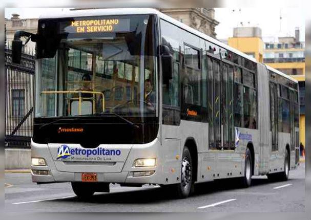 Mira la nueva ampliación de ruta que tendrá el Metropolitano