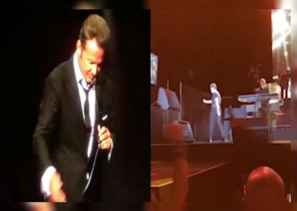 Luis Miguel desata su furia y golpea a sonidista en pleno concierto (VIDEO)