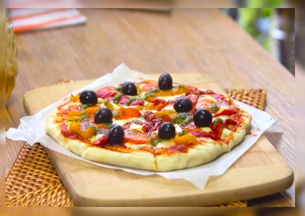 Enamora a tus amigos con una deliciosa pizza a la plancha