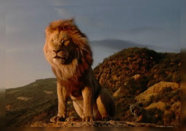 Mira el último tráiler oficial de 'El Rey León'