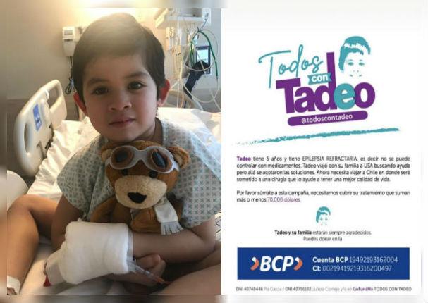 'Todos con Tadeo': Únete a esta noble campaña