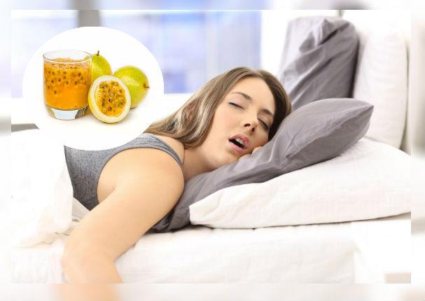 Con este rico jugo de maracuyá lograrás dormir mejor durante la noche