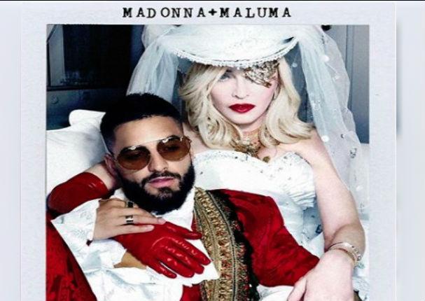 Maluma rompe en llanto al escuchar su nuevo tema con Madona
