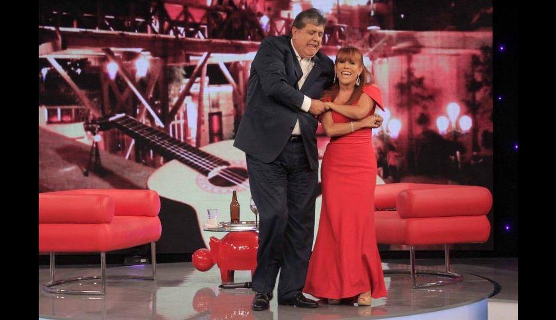 Magaly Medina cancela su programa debido a la muerte de Alan García