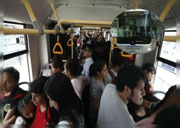 Metropolitano: ¿Cómo denunciar un acoso sexual dentro del bus?