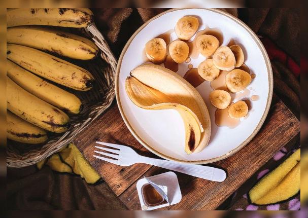 Combate el estrés consumiendo bastante plátano