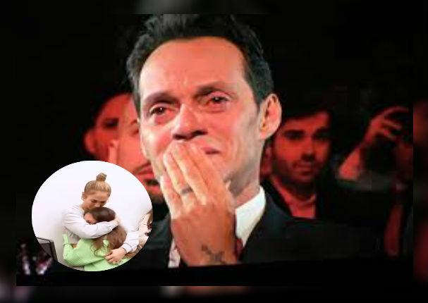 Marc Anthony se conmueve al escuchar la increíble voz de su hija