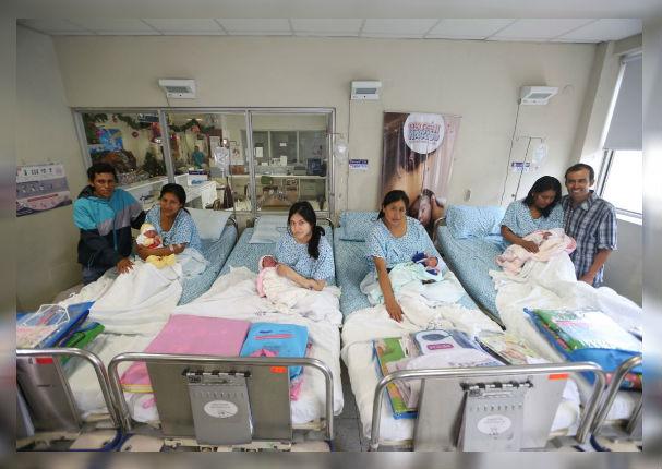 Maternidad de Lima: Gestantes ya pueden dar a luz en compañía de un familiar