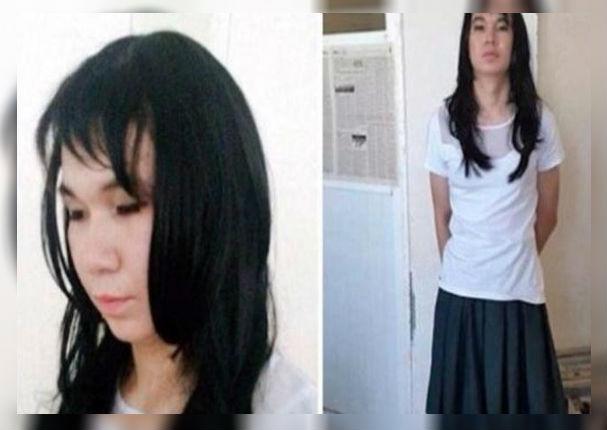 Joven se vistió de mujer para resolver el examen de su novia
