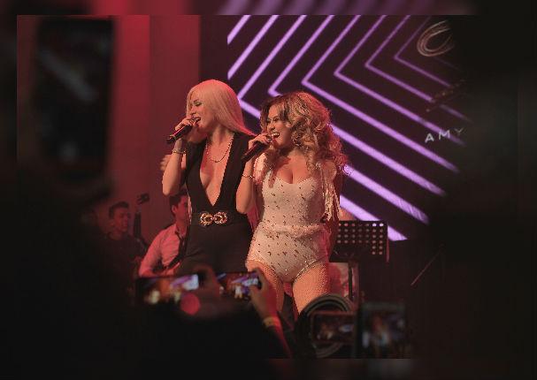 Leslie Shaw sorprende al cantar salsa urbana junto a Amy Gutiérrez