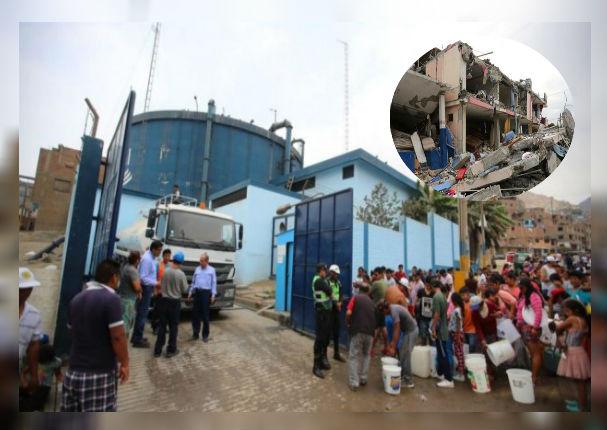 Sedapal anuncia los 421 puntos de distribución gratuita en caso de terremoto