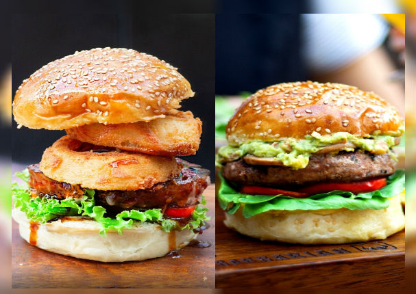 Disfruta tu tarde con una sabrosa hamburguesa casera