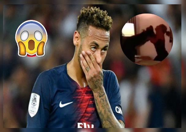 Neymar: Modelo que lo acusa de violación muestra video de agresión sufrida