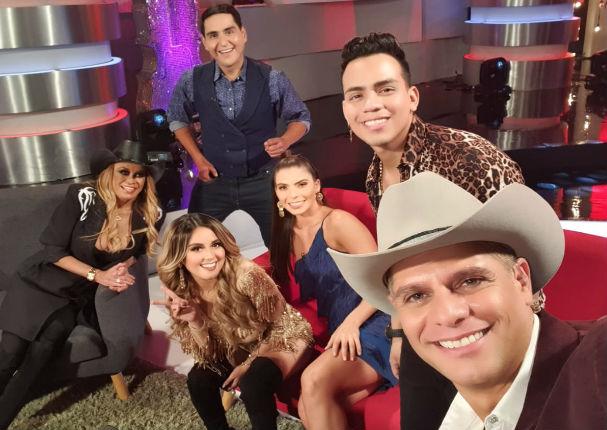 Amy Gutiérrez sorprende cantando salsa en vivo en televisión mexicana