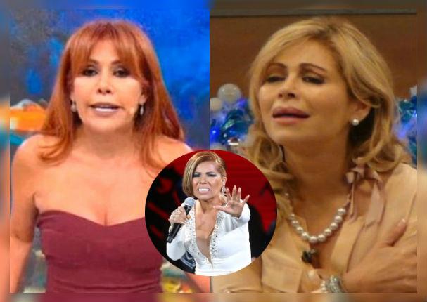 Magaly Medina se enfrenta a Gisela Valcárcel por humillar a Susan Ochoa