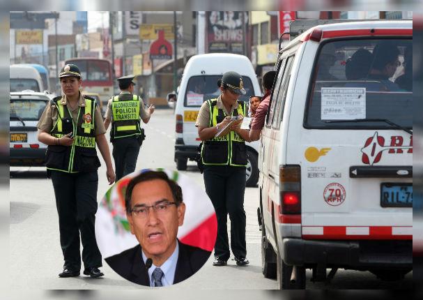 Policías de Tránsito dejarán las pistas para ver seguridad en las calles