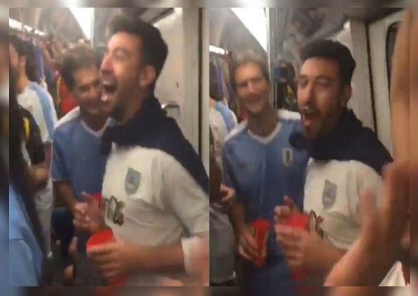 Copa América 2019: Uruguayos le cantan a chilenos que 'el pisco es peruano' (VIDEO)