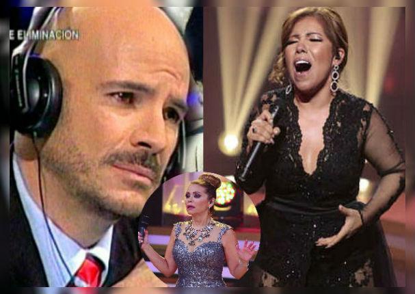 Ricardo Morán llenó de elogios a Susan Ochoa tras cantar en 'Yo Soy'