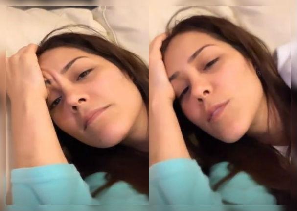 Karen Schwarz preocupa a seguidores al revelar el terrible mal que sufre (VIDEO)
