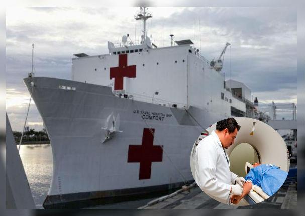 Buque hospital llegará a Perú para ayudar a pacientes con cirugías gratuitas