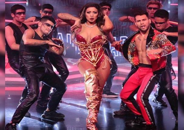 Paula Arias deslumbró al bailar en la pista de Reinas del Show (VIDEO)