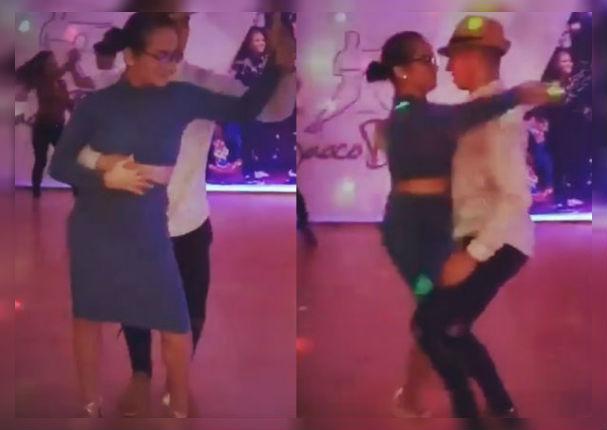 Daniela Darcourt demostró sensuales pasos bailando bachata (VIDEO)