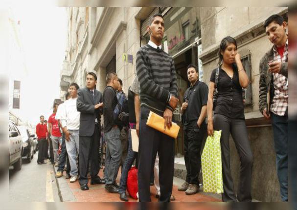 Desempleo crece alarmantemente en Lima Metropolitana