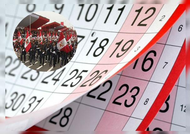 Si trabajas en los feriados de Fiestas Patrias este es el monto que recibirás