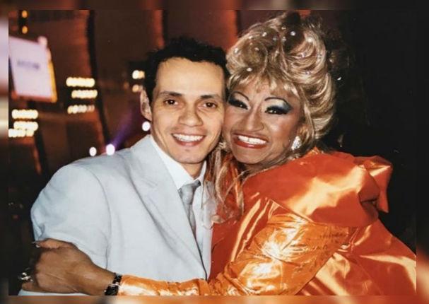 Marc Anthony recuerda a Celia Cruz a 16 años de su partida