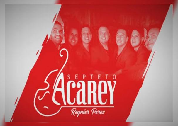 Septeto Acarey se viste de rojo y blanco con nueva canción