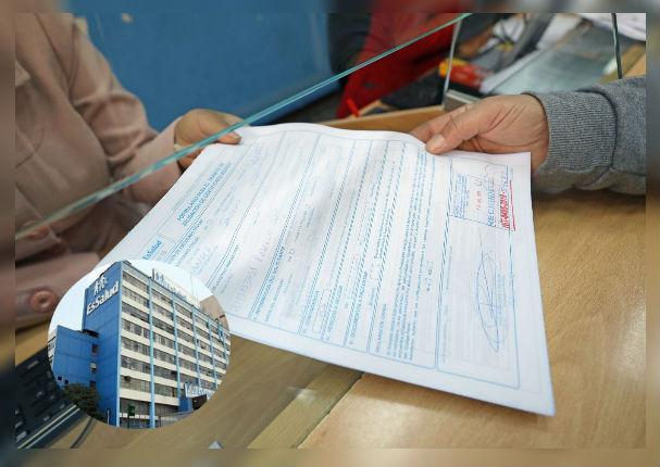 EsSalud aprobará certificados médicos que excedan plazo de presentación