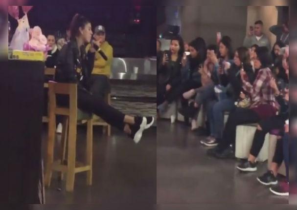 Yahaira Plasencia deleita a sus fans con canción a capela (VIDEO)