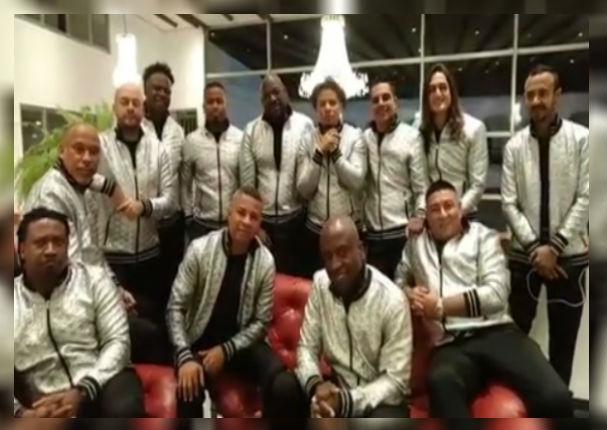 Grupo Niche sorprende al mandar este mensaje a su público peruano (VIDEO)