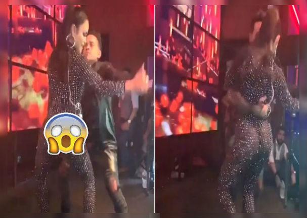 Natti Natasha muestra atributos con sensual baile en ropa transparente (VIDEO)