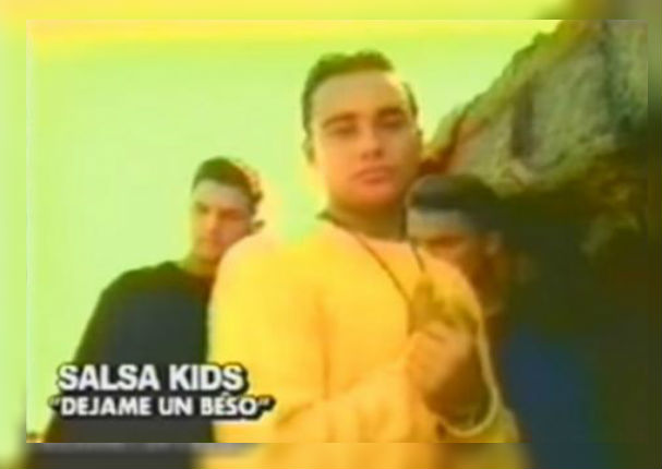 Déjame un beso -Salsa Kids (LETRA)