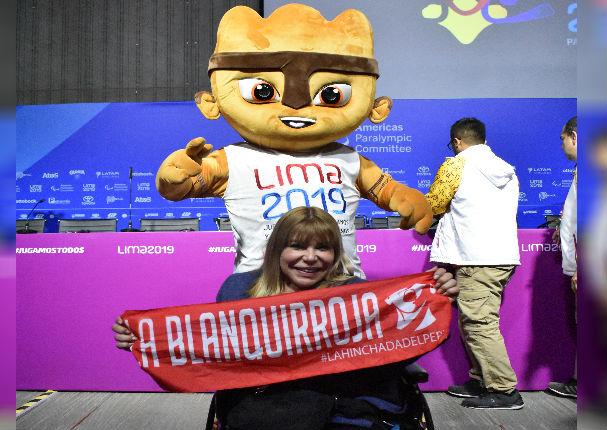 Gina Parker se prepara para llevar antorcha de los Juegos Parapanamericanos 2019