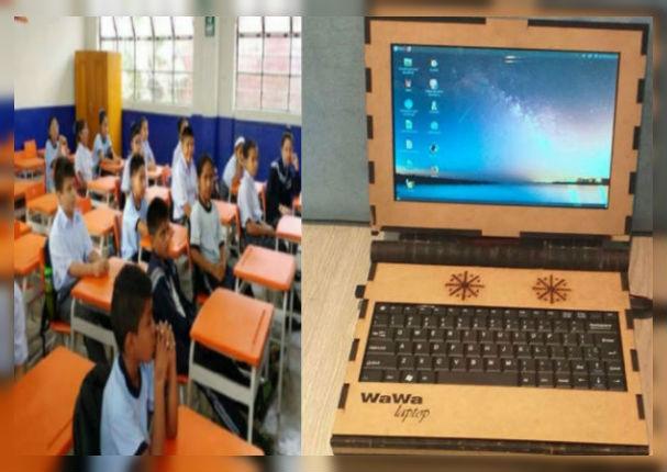 Conoce la primera laptop portátil  hecha con material reciclado