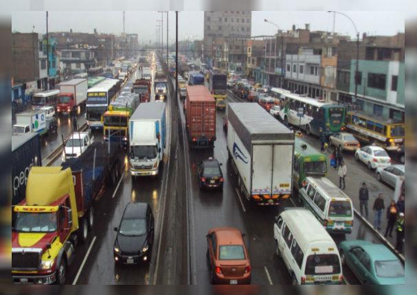 A partir de esta fecha se prohíbe el paso de camiones de carga por estas vías