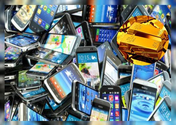 Esta cantidad de oro puedes sacar si reciclas tus celulares
