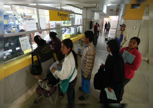 Ministerio de Salud abastecerá más medicamentos a todos los centros médicos