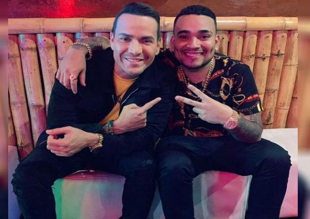 Josimar Fidel posa junto a Víctor Manuelle y revela su canción favorita