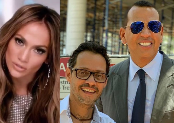 Marc Anthony y novio de Jennifer López comparten tiempo juntos (VIDEO)