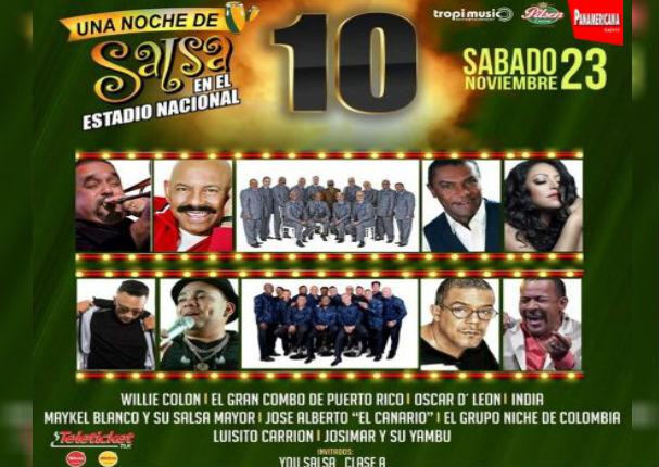 Radio Panamericana te regala entradas para 'Una noche de salsa'