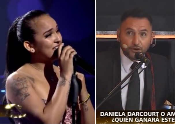 Músicos se disculpan con Daniela Darcourt por error en presentación