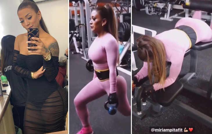 Paula Arias impacta con exigente rutina de ejercicios  (VIDEO)