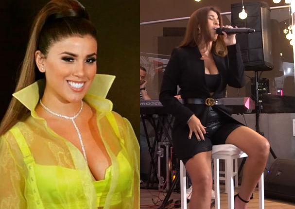 Yahaira Plasencia estrena cambio de look en show acústico (VIDEO)