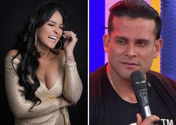 Daniela Darcourt agradece a Christian Domínguez por aumentar vistas de  'Señor mentira' en YouTube