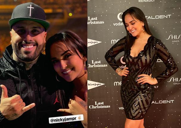 Daniela se luce con destacados artistas internacionales (VIDEO)