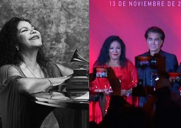 Eva Ayllón recibió Premio a la Excelencia Musical en los Latin Grammy (VIDEOS)