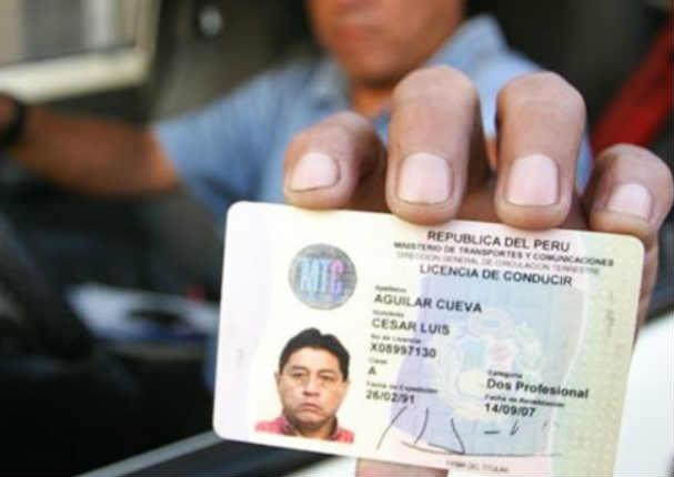 MTC premiará a conductores que no tengan infracciones